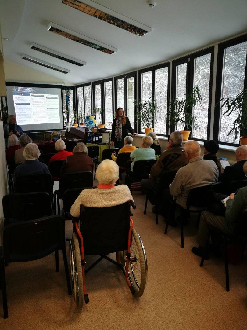 EFHR mokymai Kauno Panemunės senelių namų gyventojams